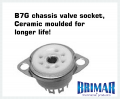 B7G - Ceramic 7 Pin Valve Socket