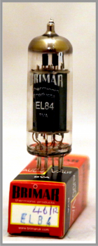 Brimar Thermionic Products - EL84 Power Pentode