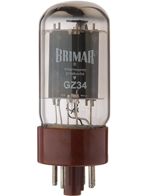 Brimar Thermionic Products – GZ34 Full Wave Rectifier