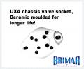 UX4 - Ceramic 4 Pin Valve Socket