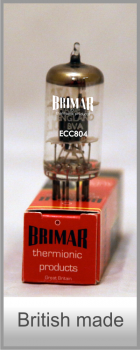 Brimar Thermionic Products – ECC804 Dual Triode