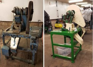 Mica Press (Harold) before and after refurbishment
